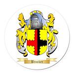 Brooker Round Car Magnet