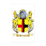 Brooker Sticker (Rectangle 10 pk)