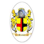 Brooker Sticker (Oval 10 pk)
