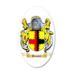 Brooker 20x12 Oval Wall Decal