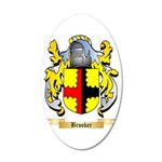 Brooker 35x21 Oval Wall Decal