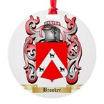 Brooker 2 Round Ornament