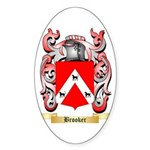 Brooker 2 Sticker (Oval)