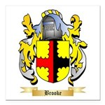 Brooke Square Car Magnet 3