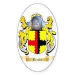 Brooke Sticker (Oval 50 pk)