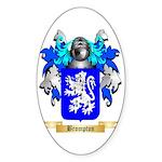 Brompton Sticker (Oval 10 pk)