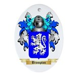 Brompton Ornament (Oval)