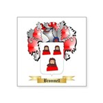 Brommell Square Sticker 3