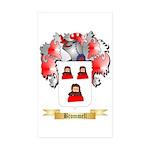 Brommell Sticker (Rectangle 50 pk)
