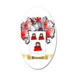 Brommell 35x21 Oval Wall Decal