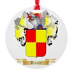 Bromly Round Ornament