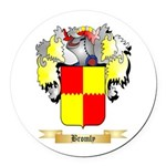 Bromly Round Car Magnet