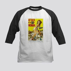 Attack of the 50 Foot Woman Poster Baseball Jersey