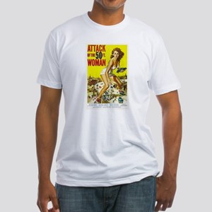 Attack of the 50 Foot Woman Poster T-Shirt