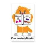 PurrsnicketyReader Wall Decal