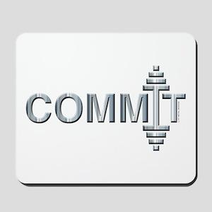 COMMIT - Fit Metal Designs Mousepad