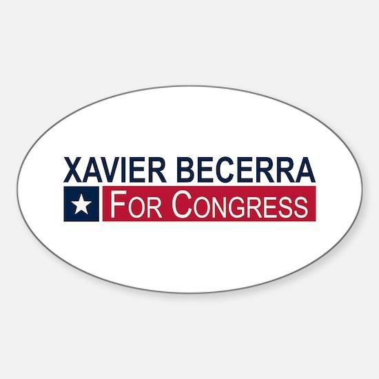 Elect Xavier Becerra Sticker (Oval)