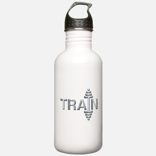 TRAIN -- Fit Metal Designs Water Bottle