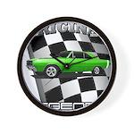Musclecar Top 100 Dart Wall Clock