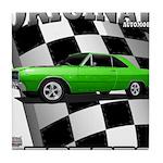 Musclecar Top 100 Dart Tile Coaster