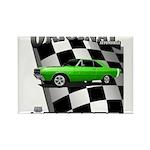 Musclecar Top 100 Dart Rectangle Magnet (100 pack)