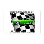 Musclecar Top 100 Dart Rectangle Car Magnet
