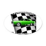 Musclecar Top 100 Dart Oval Car Magnet
