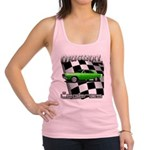 Musclecar Top 100 Dart Racerback Tank Top