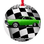 Musclecar Top 100 Dart Ornament