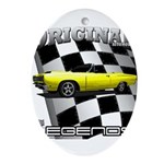 New Musclecar Top 100 1970 Ornament (Oval)