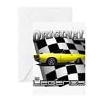 New Musclecar Top 100 1970 Greeting Cards (Pk of 1
