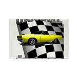 New Musclecar Top 100 1970 Rectangle Magnet (10 pa