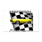 New Musclecar Top 100 1970 Rectangle Car Magnet