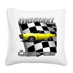 New Musclecar Top 100 1970 Square Canvas Pillow