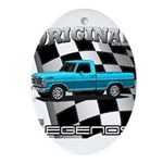 New Musclecar classic truck 1970 Ornament (Oval)