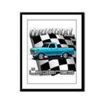 New Musclecar classic truck 1970 Framed Panel Prin