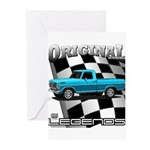 New Musclecar classic truck 1970 Greeting Cards (P