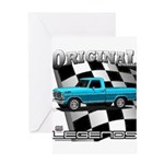New Musclecar classic truck 1970 Greeting Card