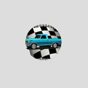 New Musclecar classic truck 1970 Mini Button