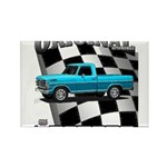 New Musclecar classic truck 1970 Rectangle Magnet