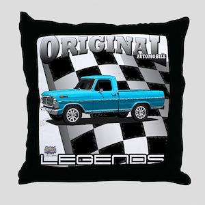 New Musclecar classic truck 1970 Throw Pillow