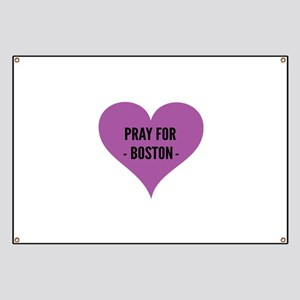 Pray for Boston Banner