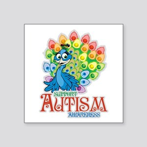Autism Peacock Sticker