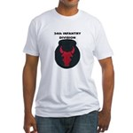34TH INFANTRY DIVISION Fitted T-Shirt