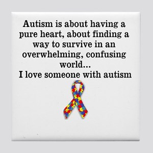 Autism is about having a pure heart, about finding