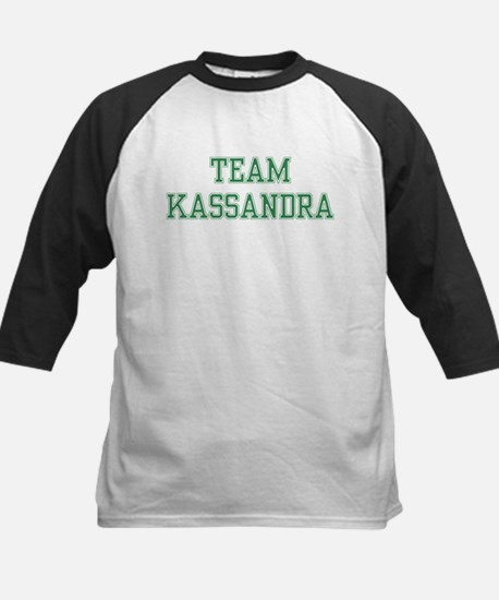 TEAM KASSANDRA  Kids Baseball Jersey