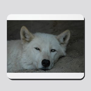 """Wolves love Naps too!"" Mousepad"