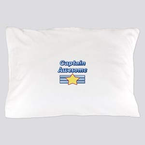 Captain Awesome2 Pillow Case