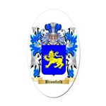 Bromfield Oval Car Magnet