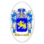 Bromfield Sticker (Oval 50 pk)